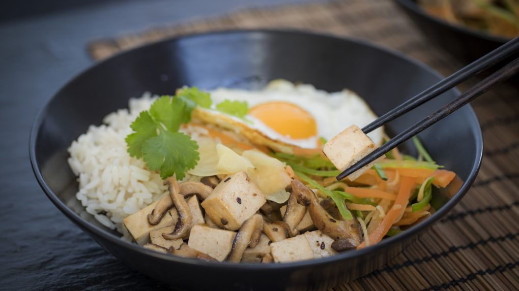 Veggie Rice Bowl with Pickled Ginger Cooking Recipe by The Ginger People