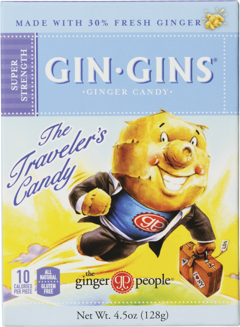 gin gins super strength - ginger candy