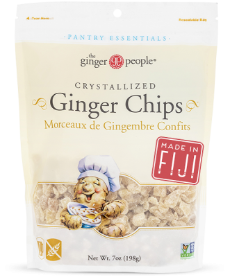 ginger people -crystallized ginger chips -fiji