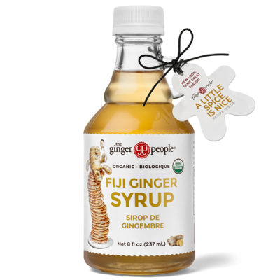 organic ginger syrup - ginger people