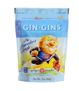 Gin Gins The Traveler's Candy Super Strength by The Ginger People