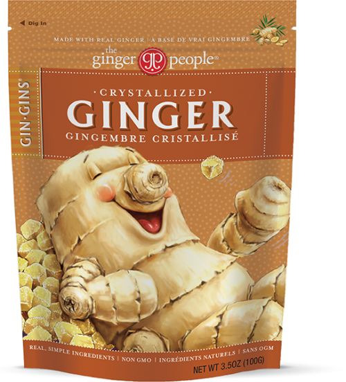 crystallized - ginger candy - gin gins - ginger people
