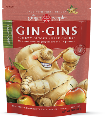 Gin Gins® Original Chewy Ginger Candy - US The Ginger People