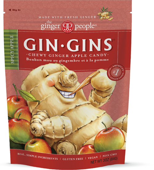 ginger people - ginger candy - spicy apple