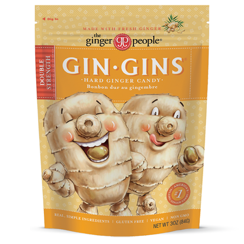 gin gins - ginger people - double strength - ginger candy - hard candy