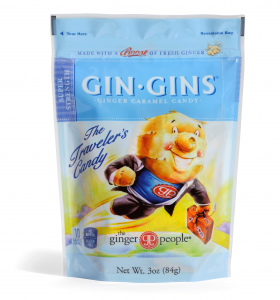 Gin Gins Travel Ginger Candy - Super Strength - The Ginger People