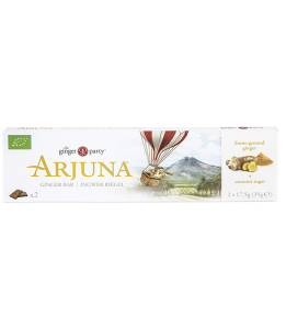 organic Arjuna Ginger Bar - By The Ginger People