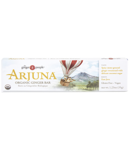 Arjuna Organic Ginger Bar - Old Fashioned Licorice Flavor - By The Ginger People