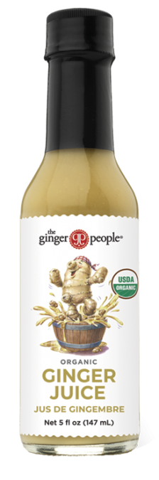 organic ginger juice - ginger people