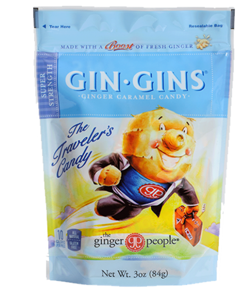 Gin Gins Ginger Candy Super Strength - The Ginger People