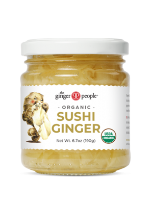 organic pickled ginger sushi ginger people