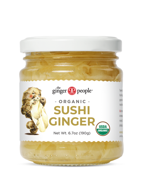 organic pickled ginger sushi ginger people