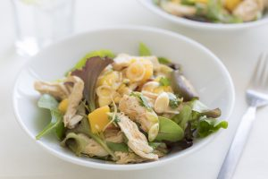 Asian-Style Ginger Chicken Salad with Mango - cooking recipe by The Ginger People