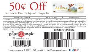 arjuna - ginger people - coupon
