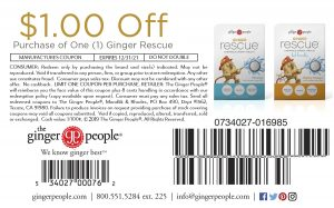 ginger rescue - coupon - ginger tablets