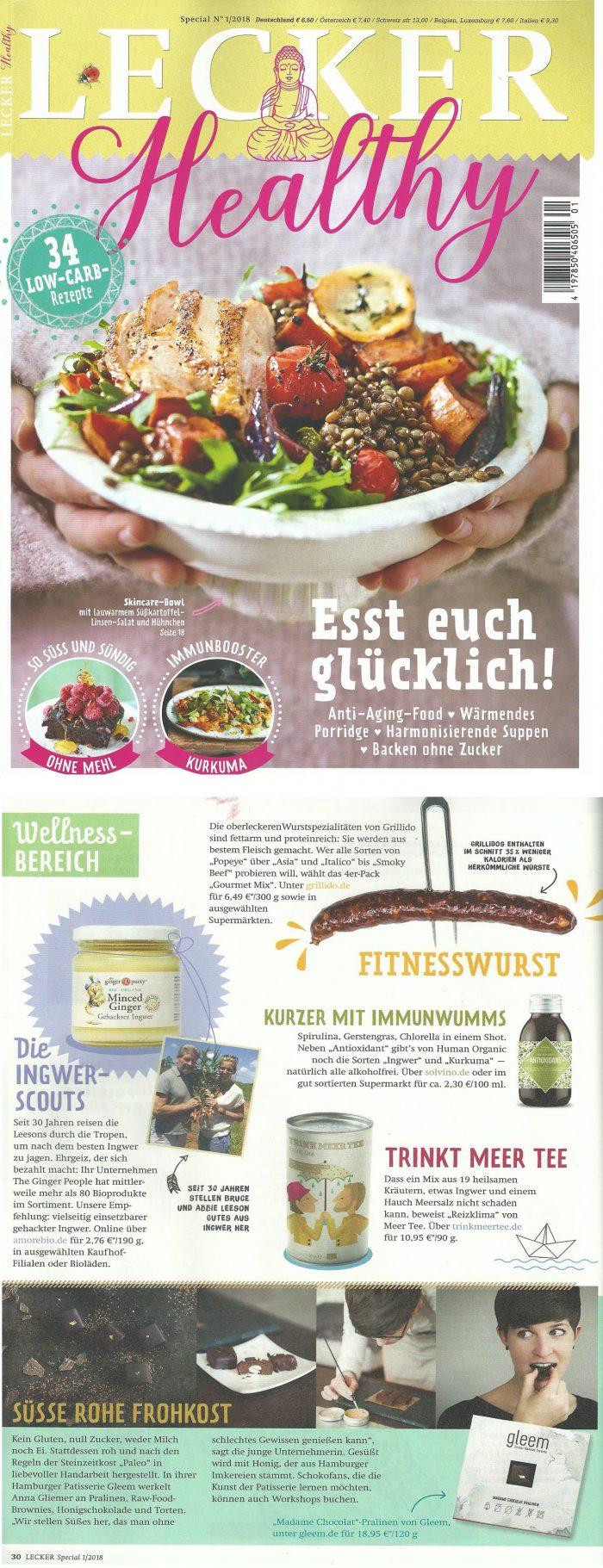 ginger people german magazine