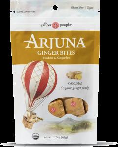 arjuna ginger people - organic ginger bites