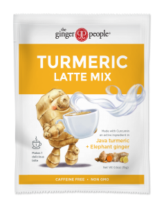golden milk - turmeric latte mix - ginger people