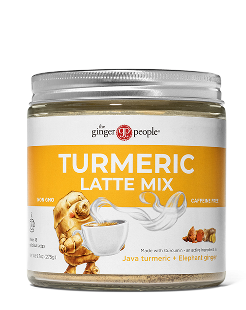 turmeric latte mix tub - ginger people