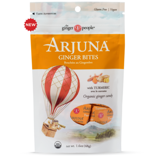 ginger people arjuna organic ginger bites with turmeric