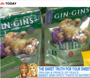 Gin Gins - Today Show - The Ginger People