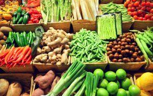 ginger people - ginger supermarket and vegetables