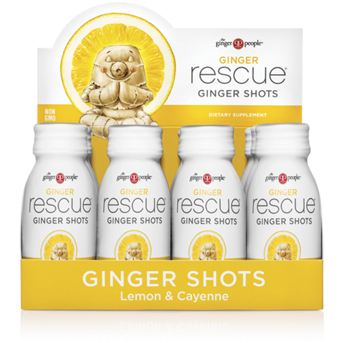 ginger rescue - ginger shots - lemon cayene