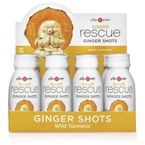 ginger rescue - ginger people - ginger shots - wild turmeric