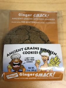 ancient grains- ginger cookies - chemotherapy