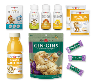 ginger and turmeric sample box - the ginger people