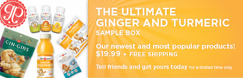 ultimate ginger and turmeric sample box - ginger people