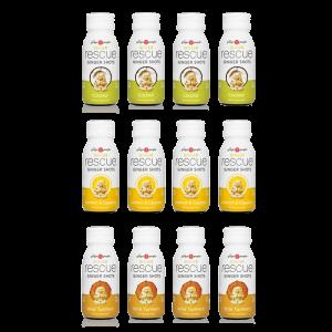 ginger shots - ginger people - 12 pack variety