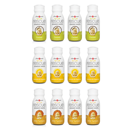 ginger shots - ginger people - 12 pack variety
