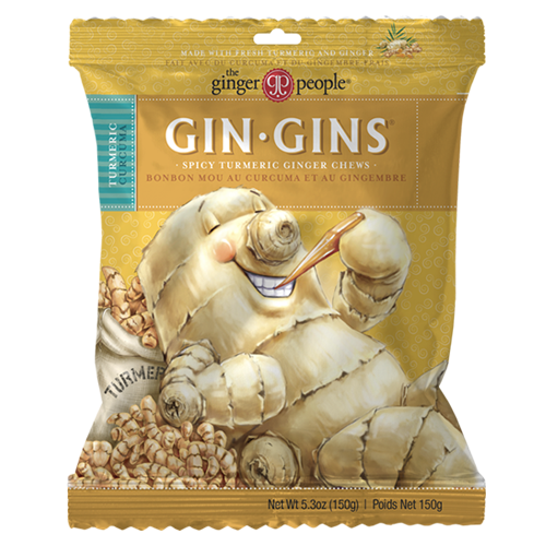 gin gins ginger chews chewy turmeric