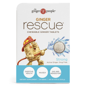 ginger rescue - ginger tablets