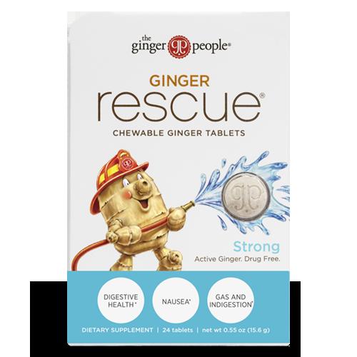 ginger rescue - ginger tablets