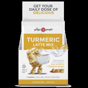 turmeric latte - ginger people