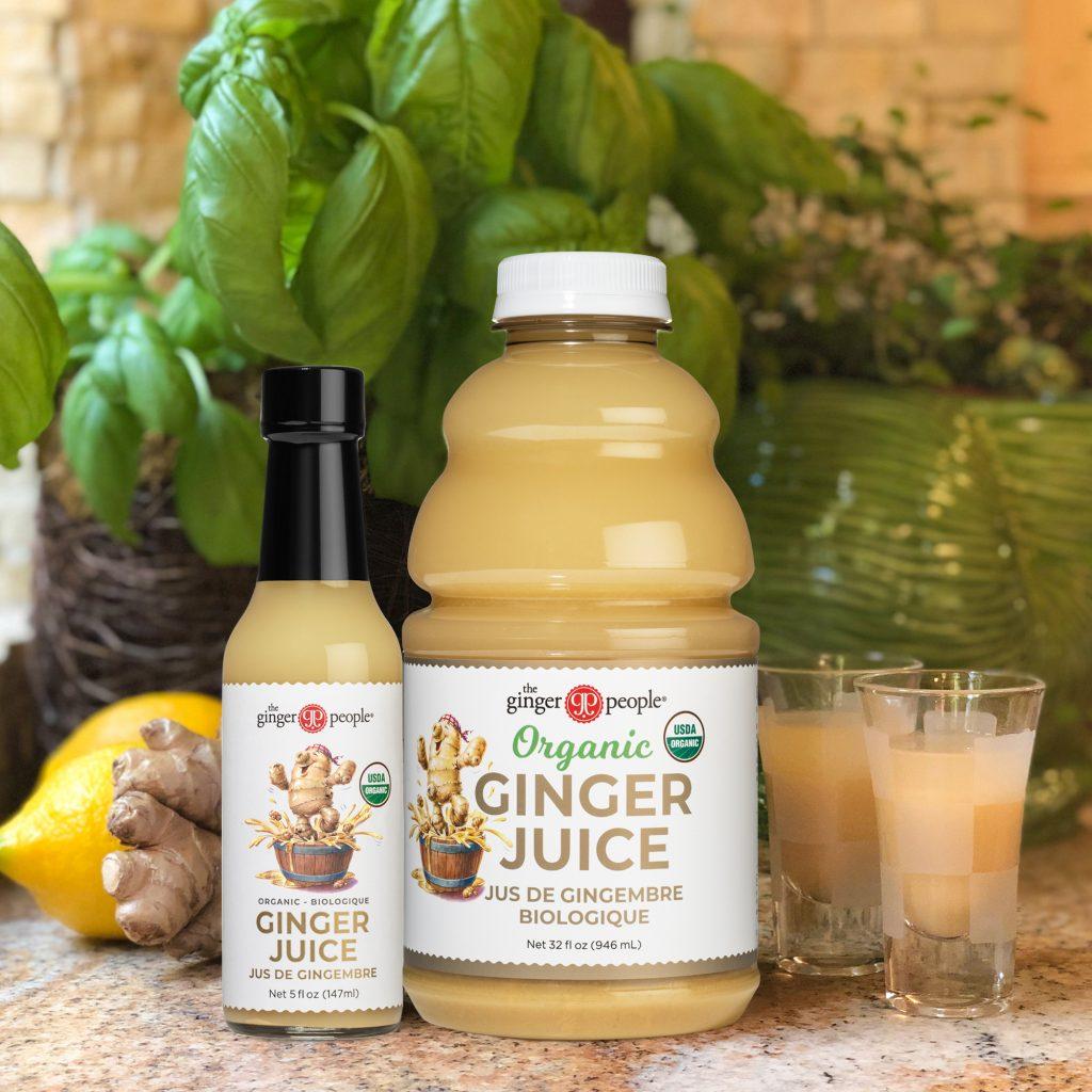 ginger juice - ginger people organic