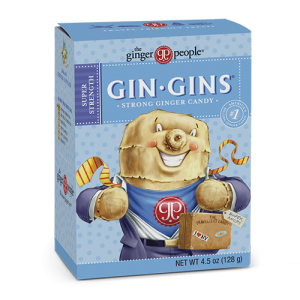 gin gins - ginger people - ginger chews - super strength