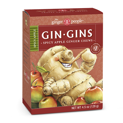 gin gins - ginger people - ginger chews - spicy apple