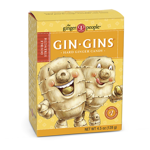 gin gins - ginger candy - double strength