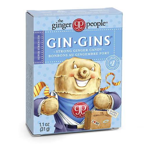gin gins - ginger people - ginger candy - super strength