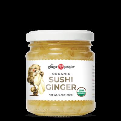 Ginger People - Organic Sushi Ginger