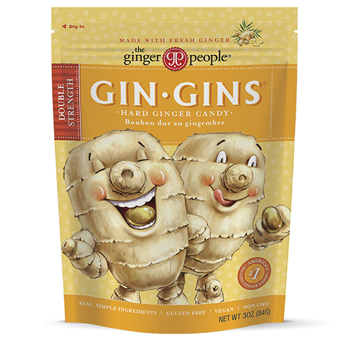 Gin Gins® Double Strength Hard Ginger Candy
