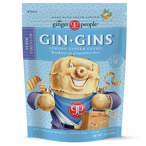 Gin Gins® Super Strength Ginger Candy