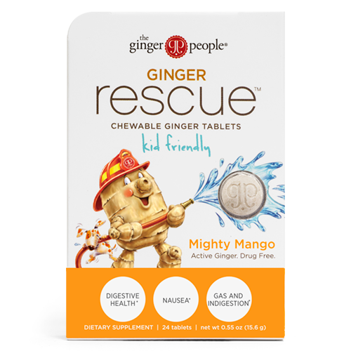 Ginger Rescue® Chewable Ginger Tablets – Mighty Mango