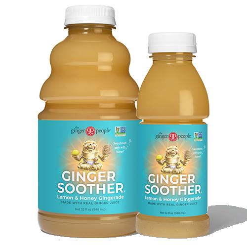 Ginger Soother® Lemon & Honey Gingerade